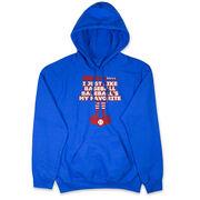 Baseball Hooded Sweatshirt - Baseball's My Favorite