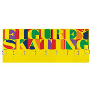 Figure Skating Hooked on Medals Hanger - Figure Skating Mosaic