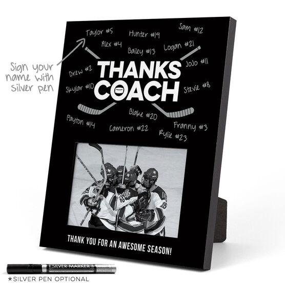 Hockey Photo Frame - Coach (Autograph)