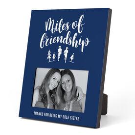 Running Photo Frame - Miles Of Friendship