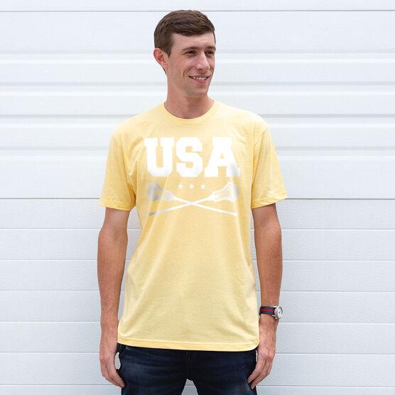 Guys Lacrosse Short Sleeve T-Shirt - USA Lacrosse