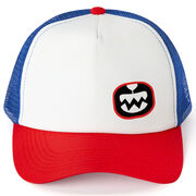 Seams Wild Trucker Hat - Seams Wild Logo (Offset)