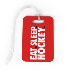 Hockey Bag/Luggage Tag - Eat Sleep Hockey