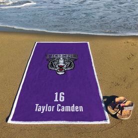 Rugby Premium Beach Towel - Custom Team Logo