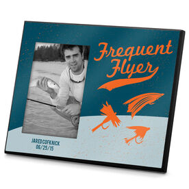 Fly Fishing Photo Frame Frequent Flyer