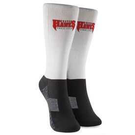 Track and Field Printed Mid-Calf Socks - Your Logo