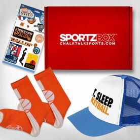 Basketball Girl SportzBox Gift Set- Layup
