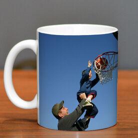 Basketball Coffee Mug Custom Photo