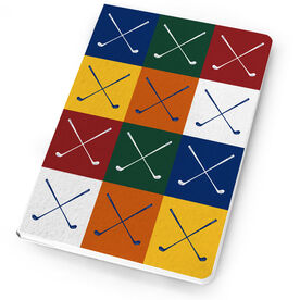 Golf Notebook Golf Tiles