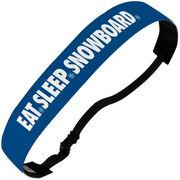 Snowboarding Juliband No-Slip Headband - Eat Sleep Snowboard