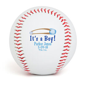 IT'S A BOY! Custom Baseball