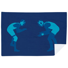 Wrestling Premium Blanket - Ready To Grapple