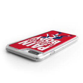 Wrestling iPhone® Case - Pain Is Weakness Leaving The Body