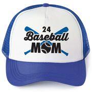 Baseball Trucker Hat Mom