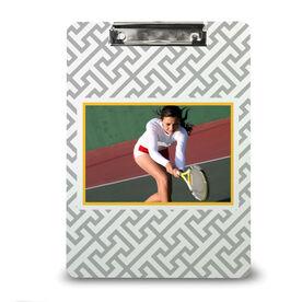 Tennis Custom Clipboard Tennis Your Photo