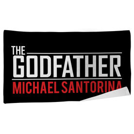 Personalized Beach Towel - The Godfather