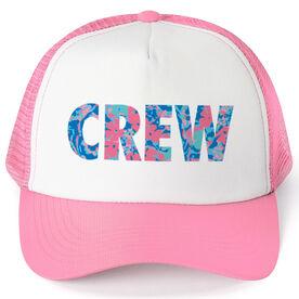 Crew Trucker Hat - Floral Crew