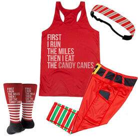 Then I Eat The Candy Canes Running Outfit