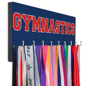 Gymnastics Hooked on Medals Hanger - Word