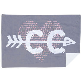 Cross Country Premium Blanket - CC Heart