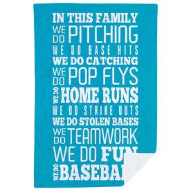 Baseball Premium Blanket - We Do Baseball