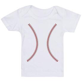Baseball Baby T-Shirt - Stitches