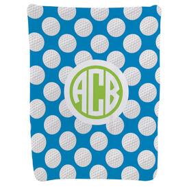 Golf Baby Blanket - Golf Pattern