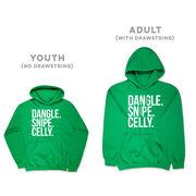 Hockey Hooded Sweatshirt - Dangle Snipe Celly Words