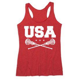 Girls Lacrosse Women's Everyday Tank Top - USA Girls Lacrosse