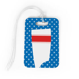 Crew Bag/Luggage Tag - Patriotic Oar