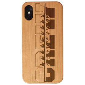 Crew Engraved Wood IPhone® Case - Water Reflection