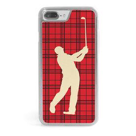 Golf iPhone® Case - Plaid Male Golfer