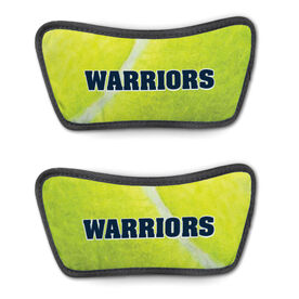 Tennis Repwell™ Sandal Straps - Tennis Ball Texture with Text