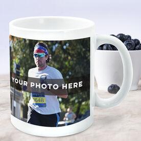 Running Coffee Mug - Custom Photo