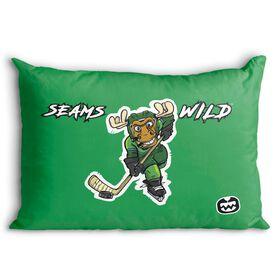 Seams Wild Hockey Pillowcase - Chantler