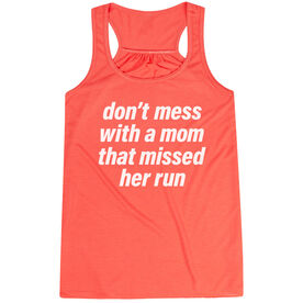 Flowy Racerback Tank Top - Don't Mess With A Mom