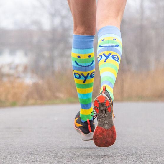 Make Me Smile Compression Knee Socks