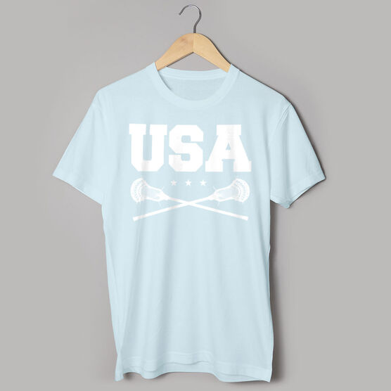 Guys Lacrosse Short Sleeve T-Shirt - USA Lacrosse