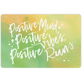 "Running 18"" X 12"" Aluminum Room Sign - Positive Runs"