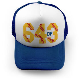 Softball Trucker Hat - 6-4-3 Double Play