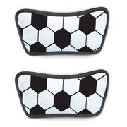 Soccer Repwell® Sandal Straps - Soccer Ball Texture