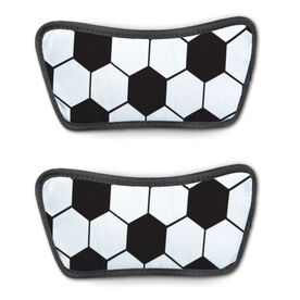 Soccer Repwell® Sandal Straps - Soccer Ball Texture