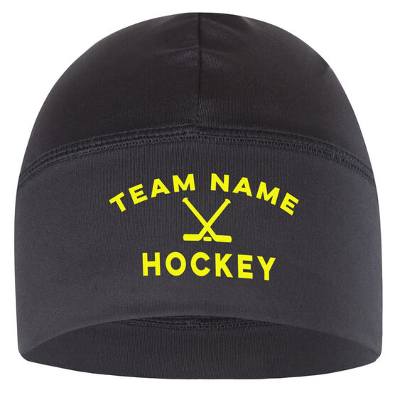 Images. Beanie Performance Hat - Hockey Team Name 7ff935d5511
