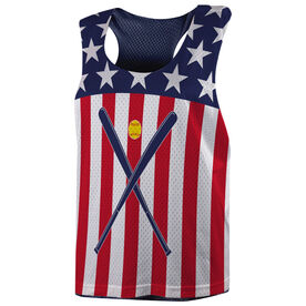 Softball Racerback Pinnie - USA Softball