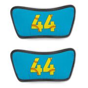 Softball Repwell® Sandal Straps - Softball Number Stitches