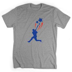 Baseball Tshirt Short Sleeve USA Spirit Baseball