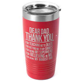 Hockey 20 oz. Double Insulated Tumbler - Dear Dad