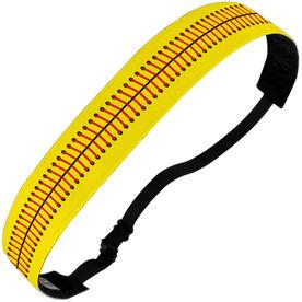 Softball Juliband No-Slip Headband - Stitches
