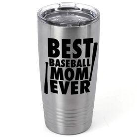 Baseball 20 oz. Double Insulated Tumbler - Best Mom Ever