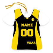 Softball Ornament - Personalized Jersey
